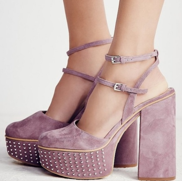 b52ebe6edc Free People Shoes | Star Crossed Platform Heels | Poshmark